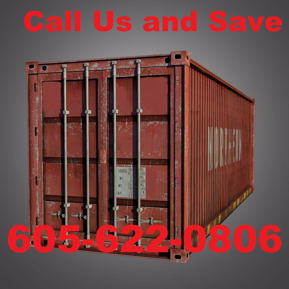 20' Shipping Container Storage Container Conex Box In