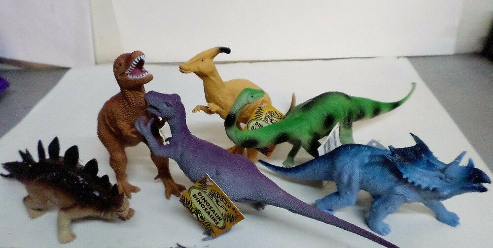 Dinosaurs Toys R Us : New large pc quot long dinosaur action figures lot