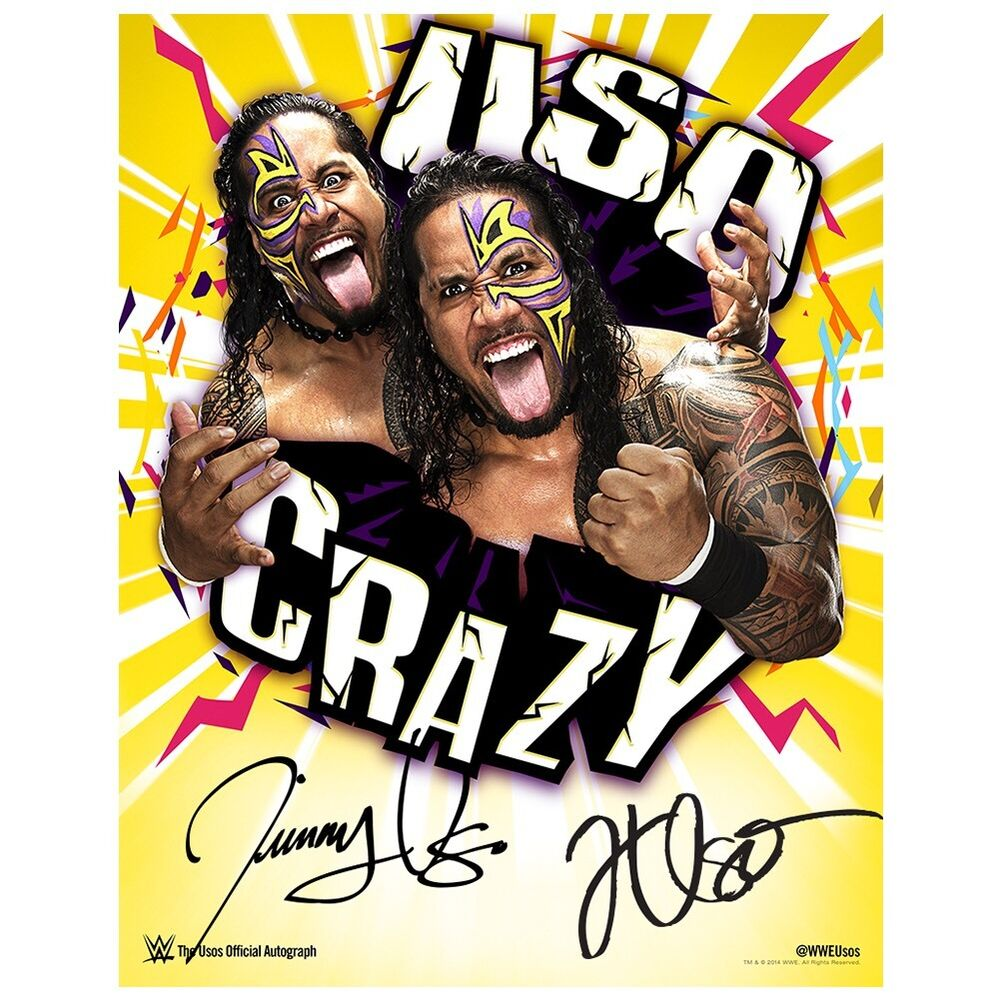 WWE The USO 39 s New Authentic Autograph