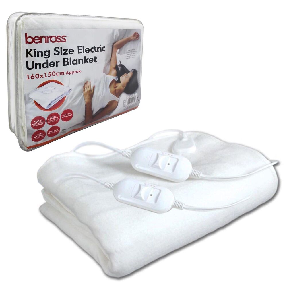Double Bed Electric Blanket Size