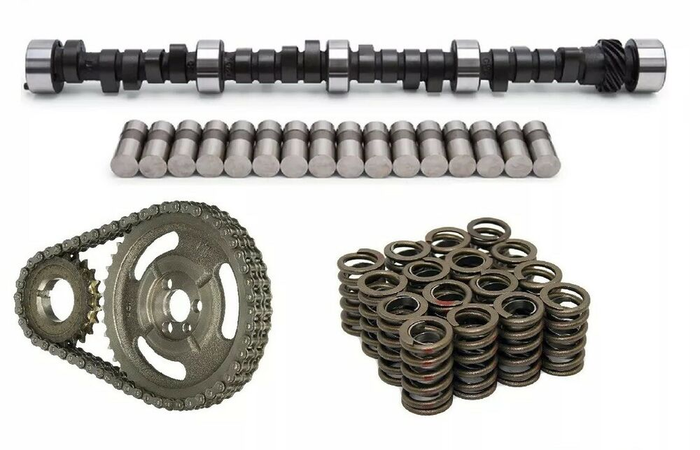 Chevy Sbc 305 327 350 400 Camshaft Lifters Springs Timing