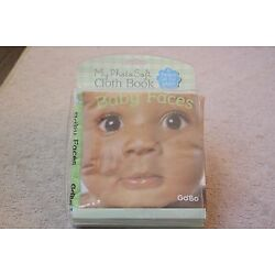 New Baby Cloth Soft Book Baby Faces Go Bo My Photo Soft Cloth Book
