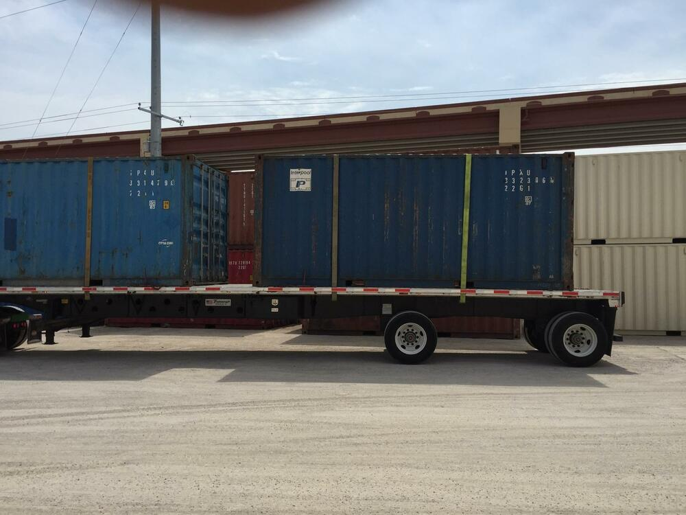40ft shipping container storage container conex box in for Storage 77080
