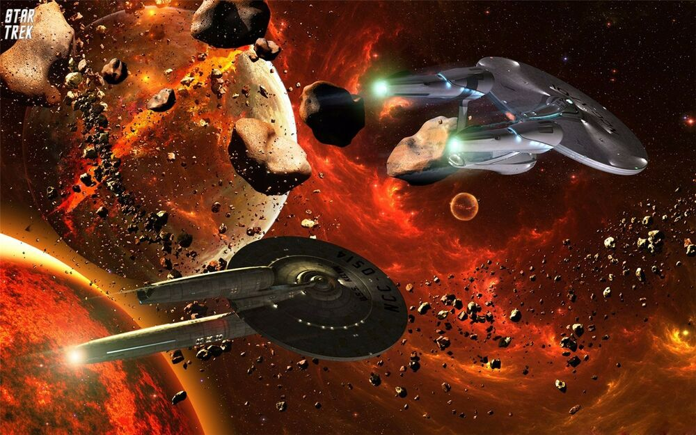 Star trek outer space movie game art fabric wall poster 21 for Space is not fabric