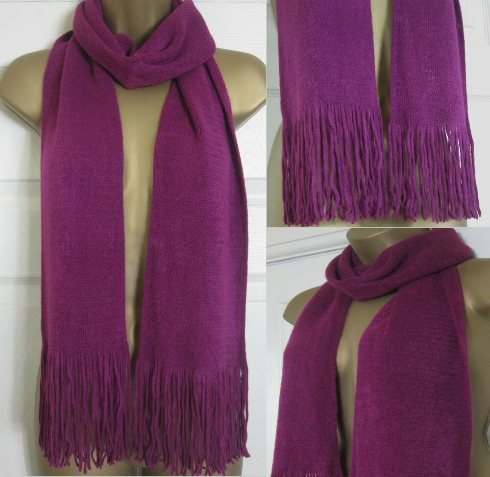 new ex marks spencer womens scarf pink magenta m s