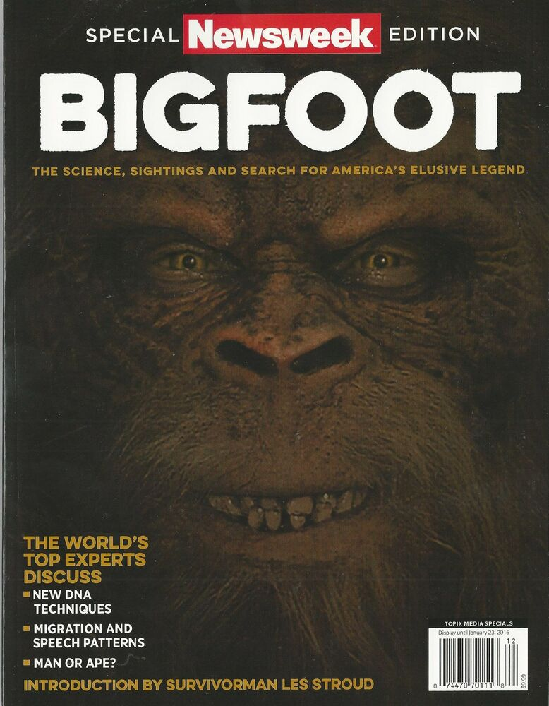 BIGFOOT Special Newsweek Edition, New 2015