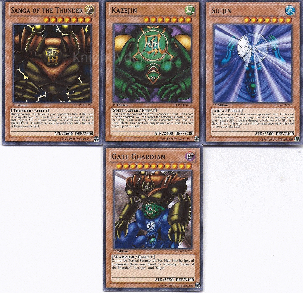 Die Neusten Yugioh Decks: Authentische Paradox Brothers Deck-Gate Guardian-Suijin 40