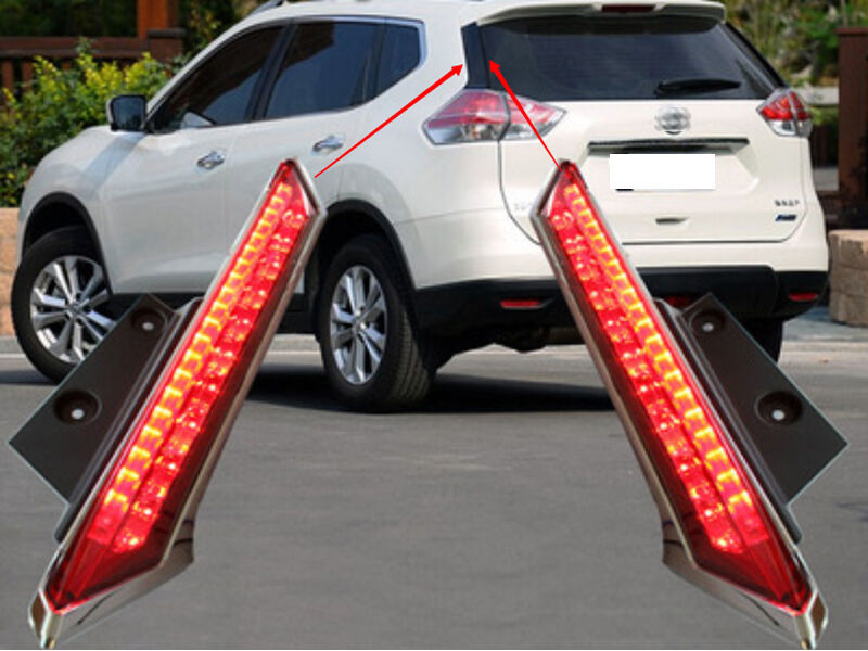 Rear Window Decoration Lamp Led Brake Light For Nissan