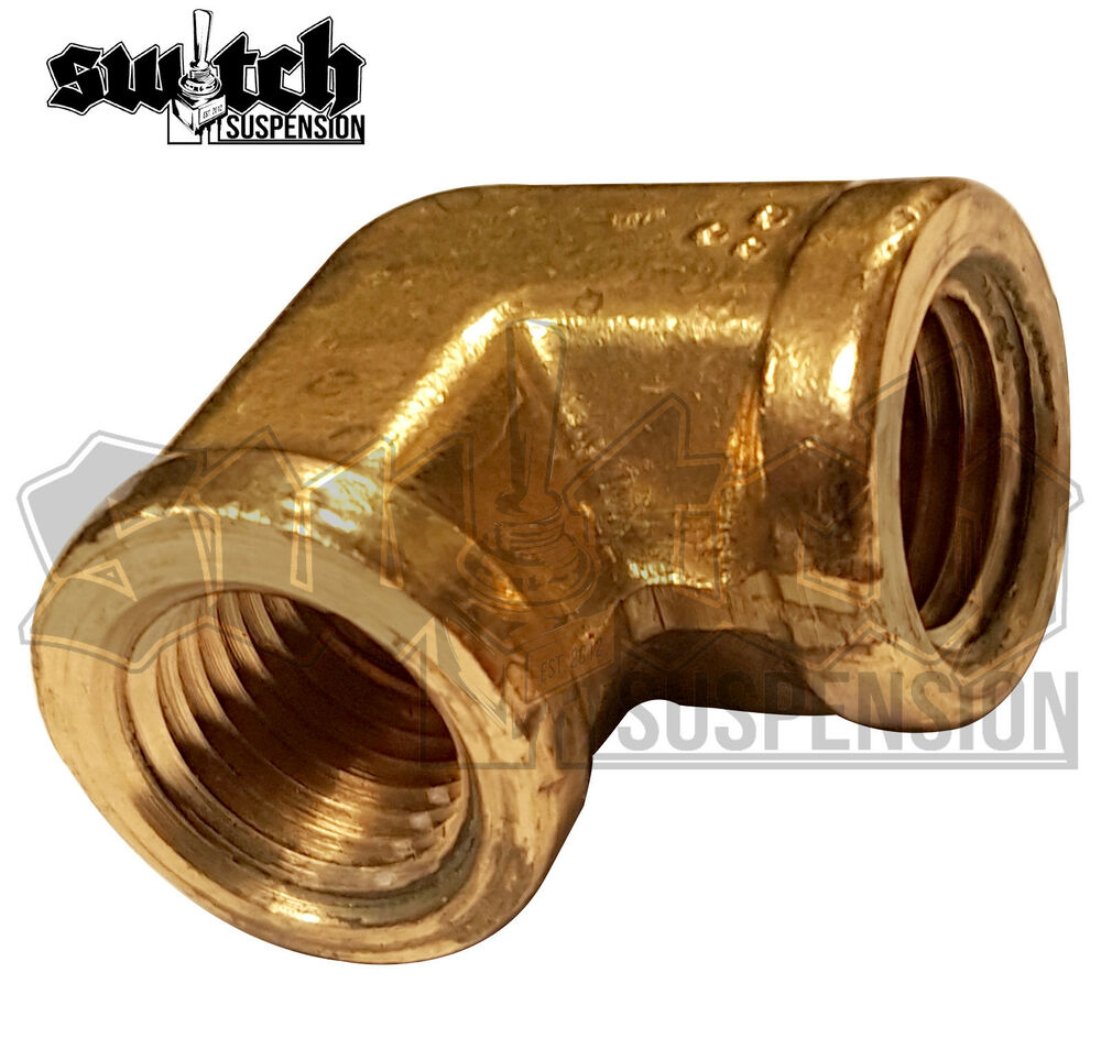 Brass pipe fitting npt female elbow forged connector