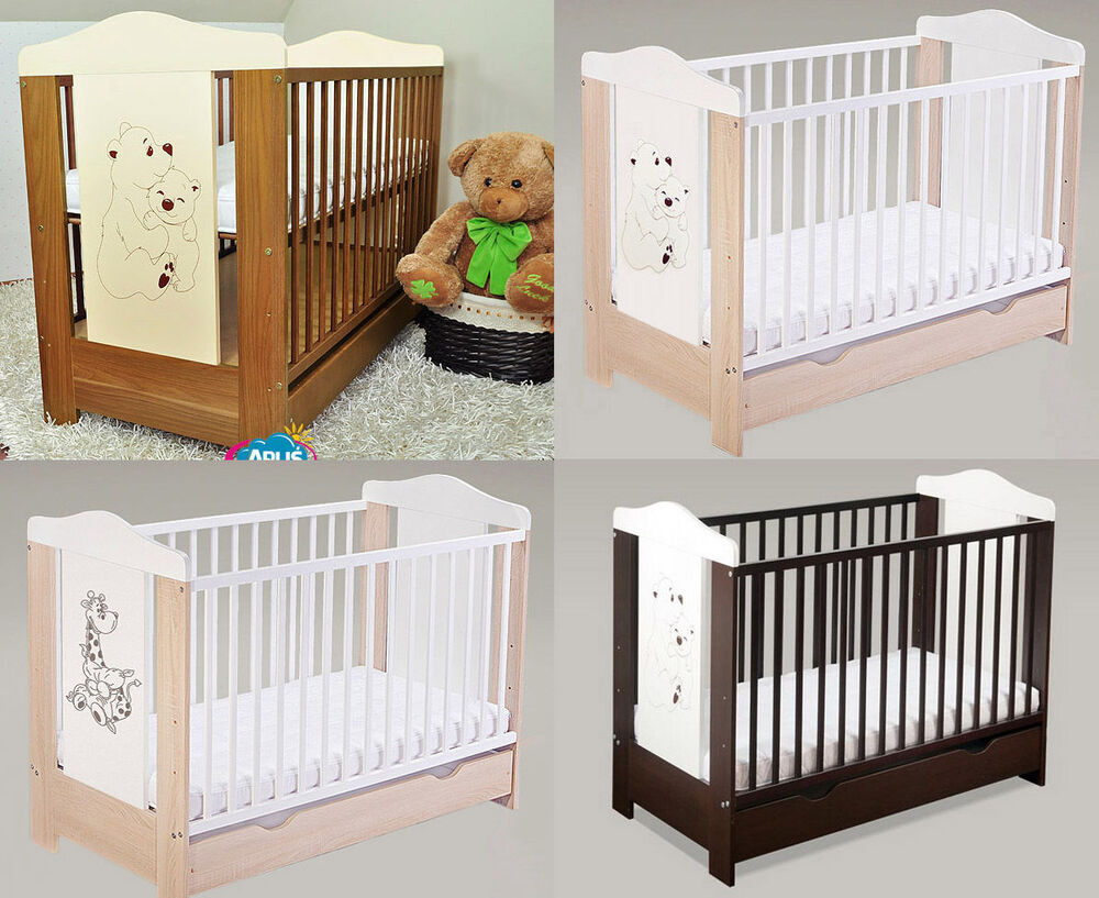 Baby Cots With Drawer Baby Bed Cot Beds 4 Models Dumbo