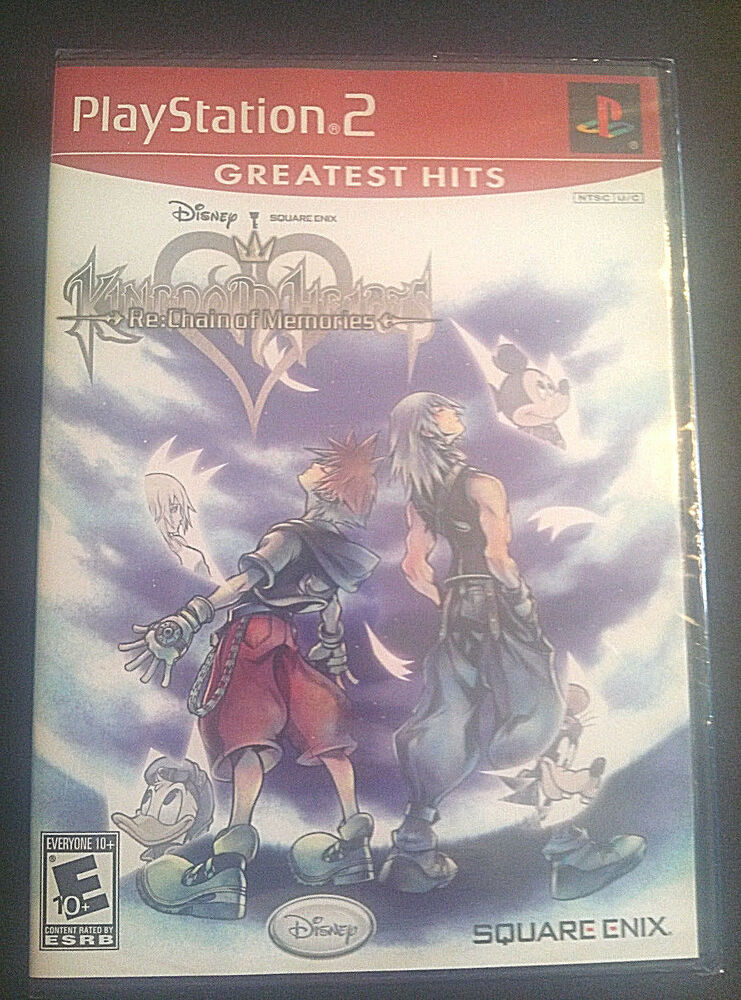 KINGDOM HEARTS RE: CHAIN OF MEMORIES NEW PLAYSTATION 2 PS2
