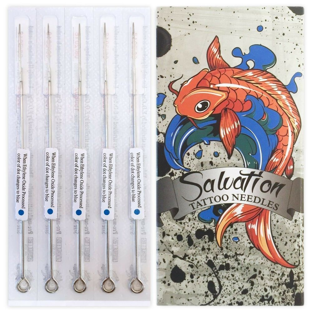 50 box pre made sterile tattoo needles choose lining or for Shading tattoo needles