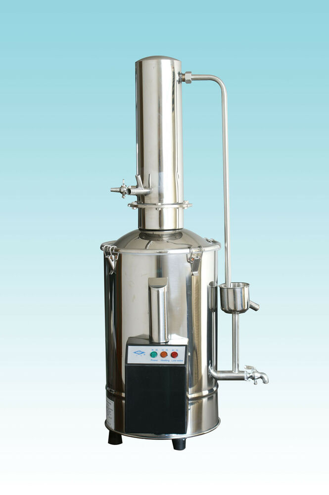 Stainless Steel Electric Devices Distilled Water No Water