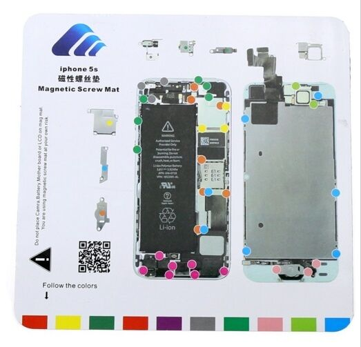 iphone 5s manual iphone 5s magnetic chart mat repair professional 11215