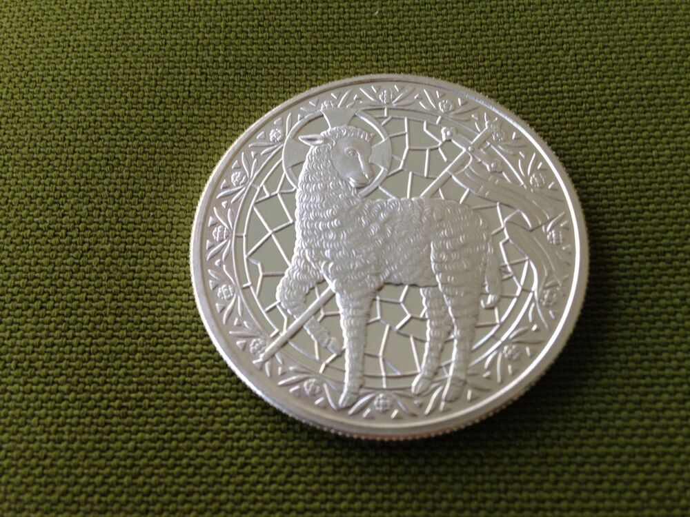 2015 Lamb Of God 1 Oz Silver Round One Troy Ounce Ebay