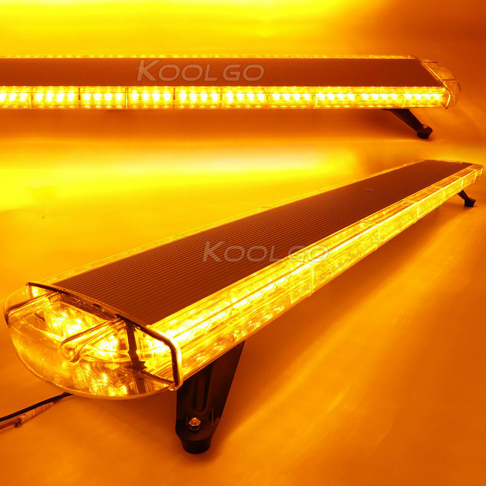"59"" 112 LED WORK LIGHT BAR BEACONS EMERGENCY WARNING"