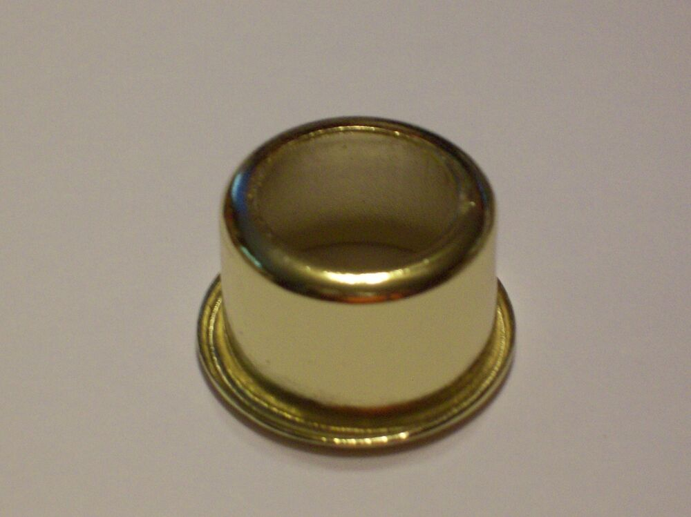 Brass Plated Candelabra Cap For Candelabra Candle Covers