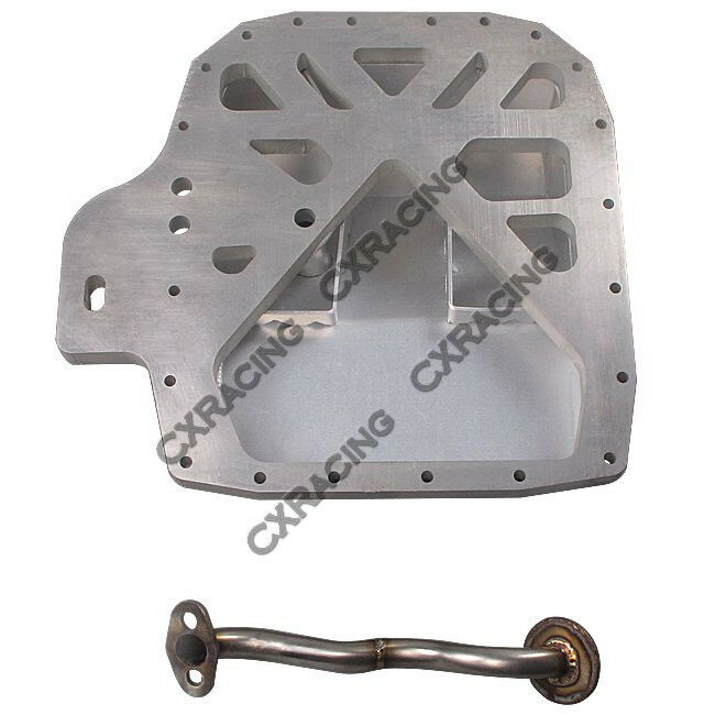 Rx7 Engine Used: CXRacing Aluminum Rear Sump Oil Pan For RX7 FC 13B Rotary