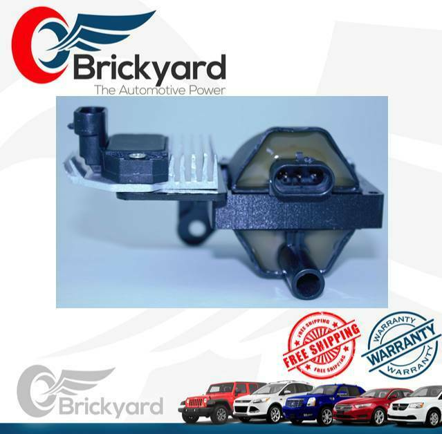 D577 Brickyard New Chevy Ignition Coil With Ignition