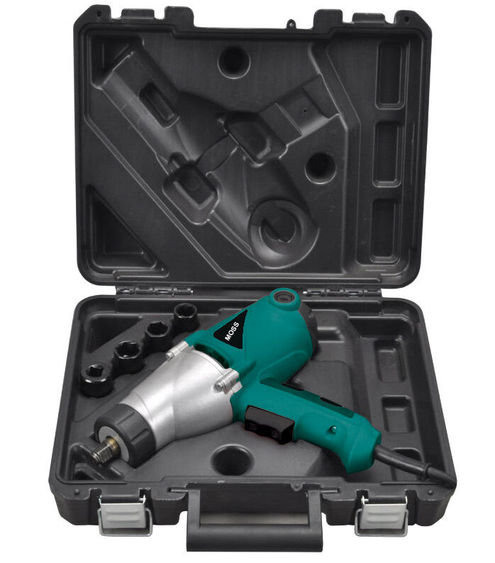 heavy duty electric impact wrench 1 2 drive and 4 sockets 450nm torque 1000w ebay. Black Bedroom Furniture Sets. Home Design Ideas