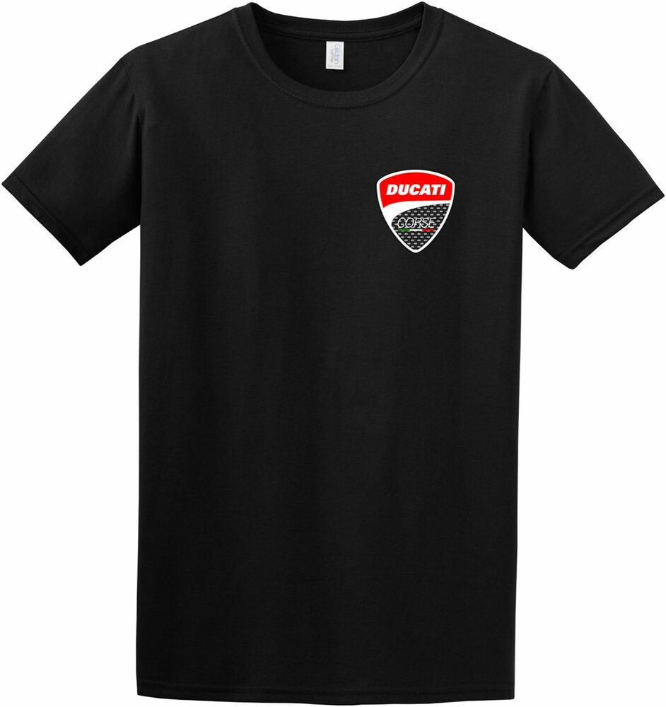 ducati corse t shirt monster panigale diavel multistrada hyperstrada scrambler ebay. Black Bedroom Furniture Sets. Home Design Ideas