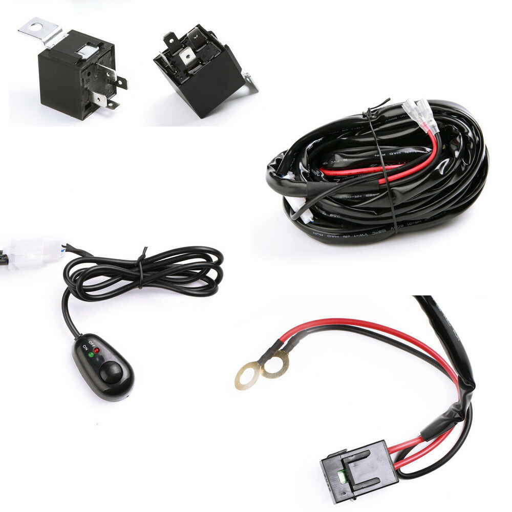 Universal Automobile Wiring Harness : Universal wiring harness kit street rod hot race car