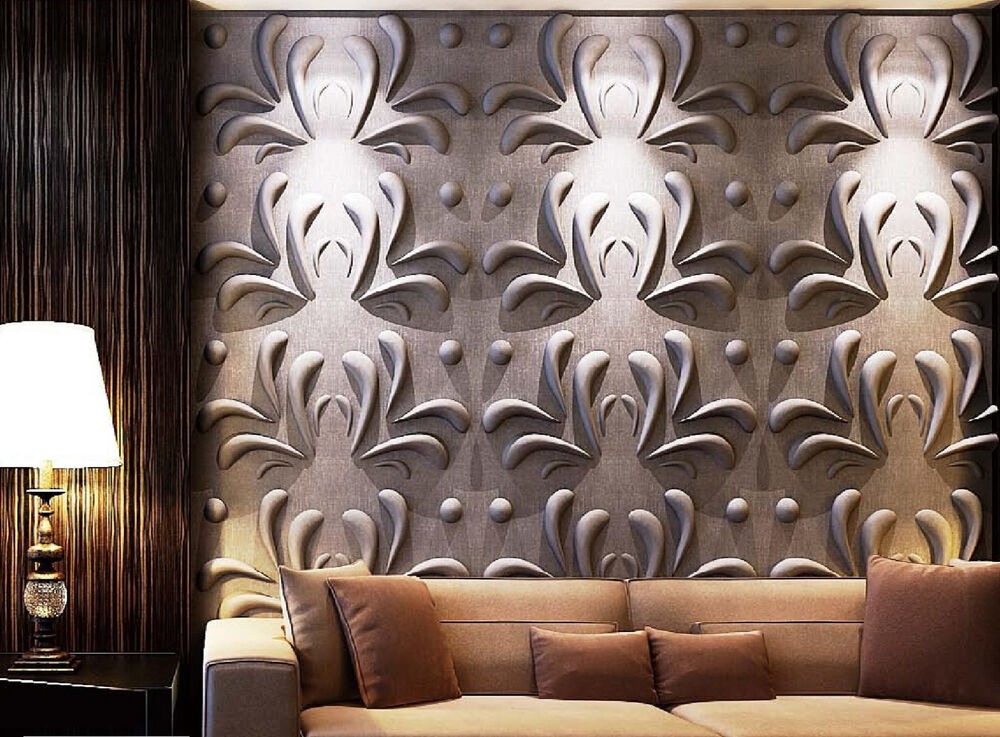 3d wall panel daisy 1 carton contain 12 panels covering for 3d wall covering