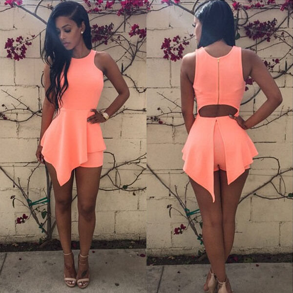 Women Sexy Fashion Bandage Slim Bodycon Evening Party Cocktail Short Mini Dress