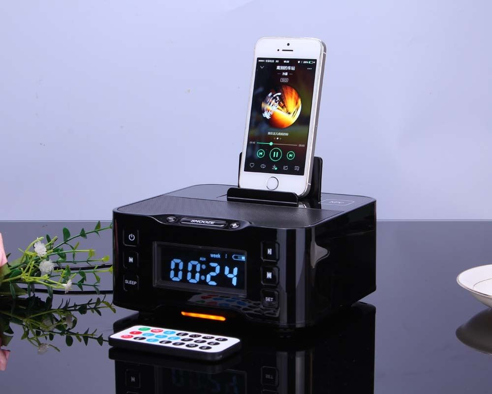 iphone 6 speaker dock nfc station bluetooth speaker for iphone 6s 6plus 4370