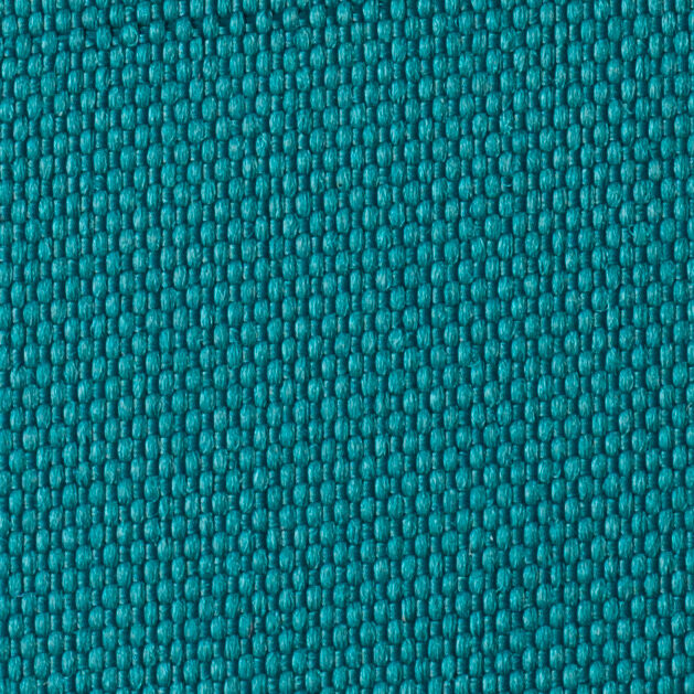 Teal Outdoor Fabric 100% SolutionDyed Polyester Pillow