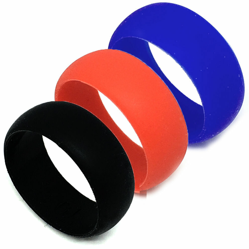 Rubber Wedding Band >> SAR - SAFE ACTIVE RINGS 8mm Silicon Rubber Wedding Band Ring - Pick Your Color! | eBay