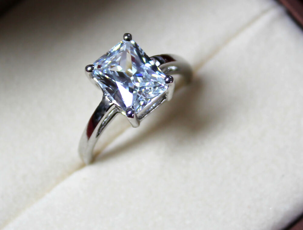 2 15 ct emerald cut d si1 solitaire engagement