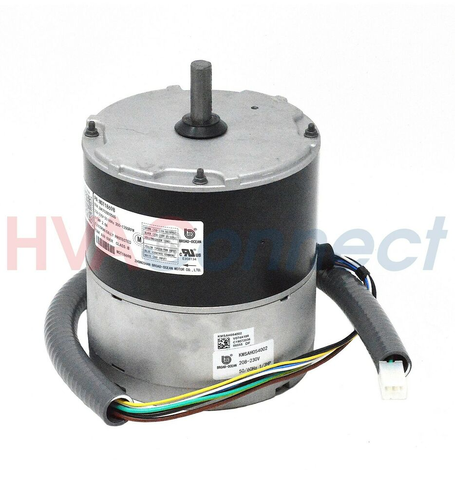 Trane american standard ecm fan motor 1 3 hp 240v for 1 3 hp motor