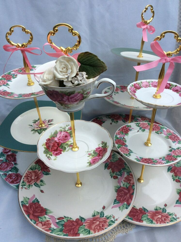 wedding china 3 tier cake stands tiered serving tray. Black Bedroom Furniture Sets. Home Design Ideas