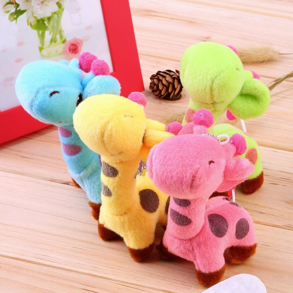 Cute Baby Toys : Lovely cute kids child giraffe gift soft plush toy baby