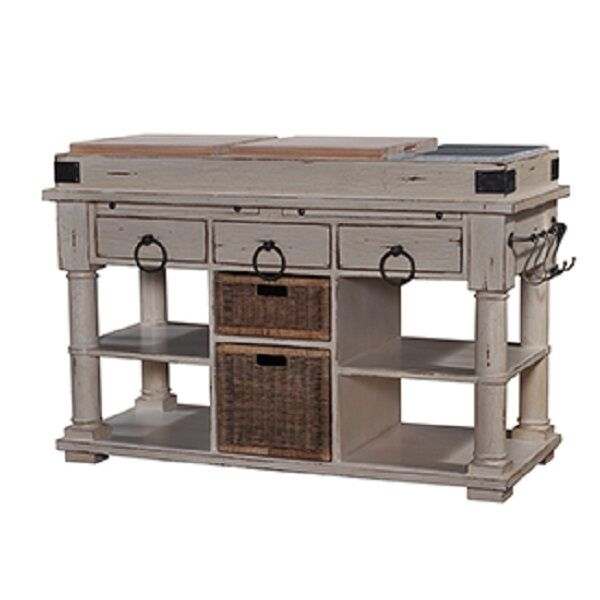 distressed kitchen island butcher block chic retreat distressed antique kitchen island 8743