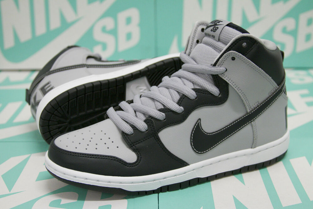 official photos a543c ad496 Details about Nike SB Dunk High Premium - Rival Pack Georgetown Hoyas  313171 440 Obsidian Gray