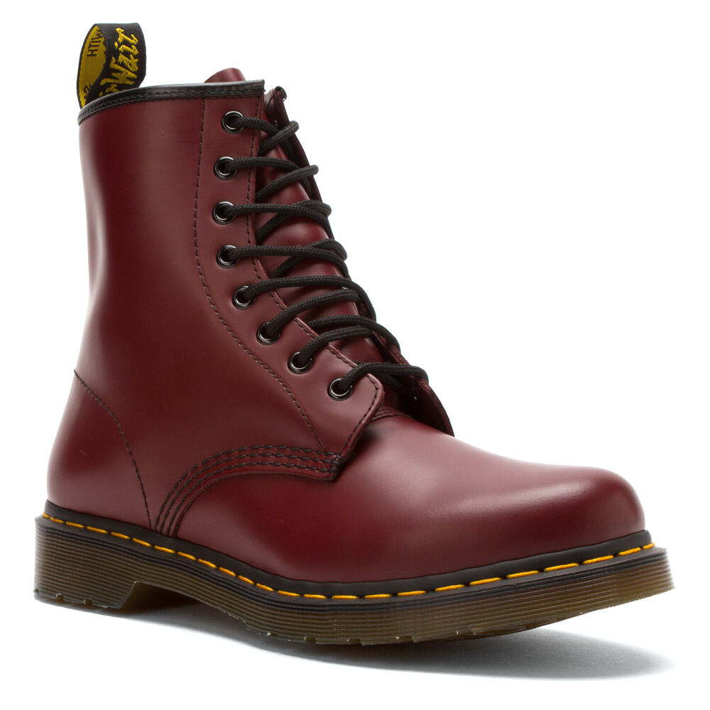 doc martens women 39 s 1460 w cherry red smooth boot 11821600 ebay. Black Bedroom Furniture Sets. Home Design Ideas