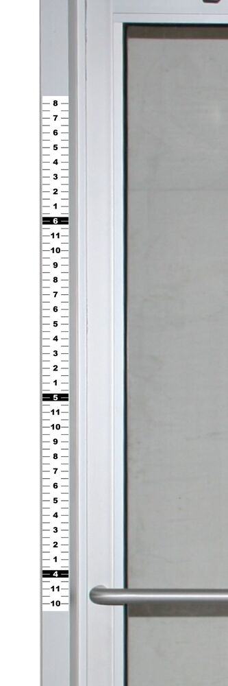 Set Of 4 Security Height Ruler Tape For Door Frame 1 75
