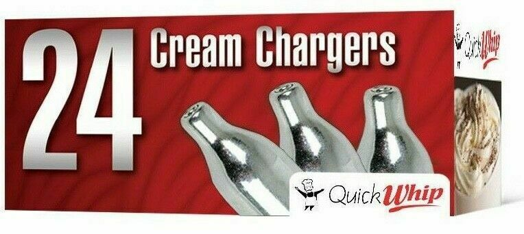 100 Ms Cream Pure N2o Whipped Cream Whipper Chargers