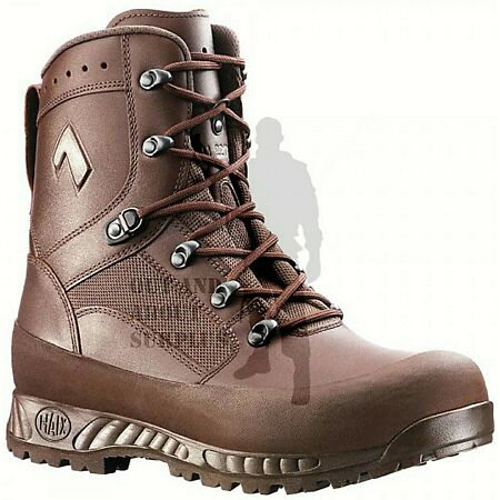 img-BRITISH ARMY - HAIX Combat High Liability Brown Boots Leather Cadet - Mens