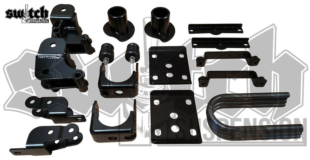 Ford F150 Lowering Kit 2015 2016 2 Quot Front 4 Quot Rear Drop