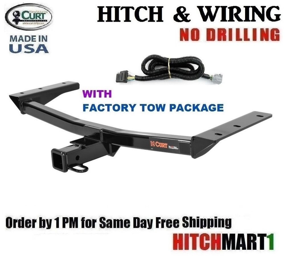 fits 2016 lexus rx350 class 3 curt trailer hitch wiring 2 tow receiver 13272 ebay. Black Bedroom Furniture Sets. Home Design Ideas
