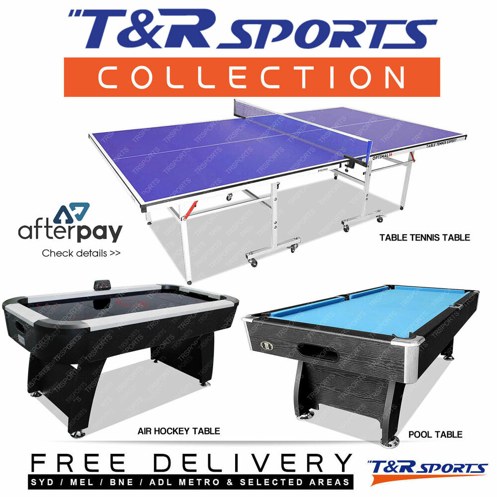 Game room package 8ft mdf pool table 6ft air hockey table 16mm table tennis ebay - Pool table table tennis ...