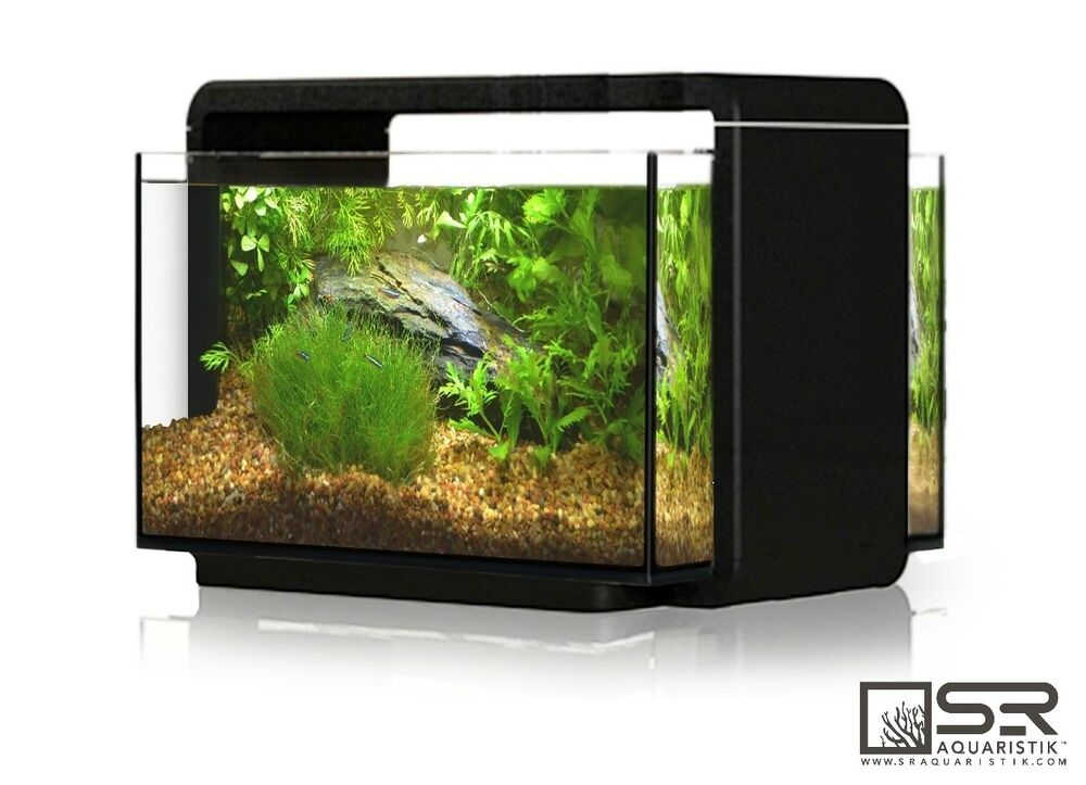 Nano desktop aquarium kit 6 6 gallon all glass led for 5 gallon glass fish tank