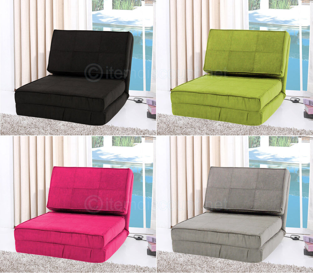 Flip Out Down Lounge Chair Folding Sofa Bed Couch Game