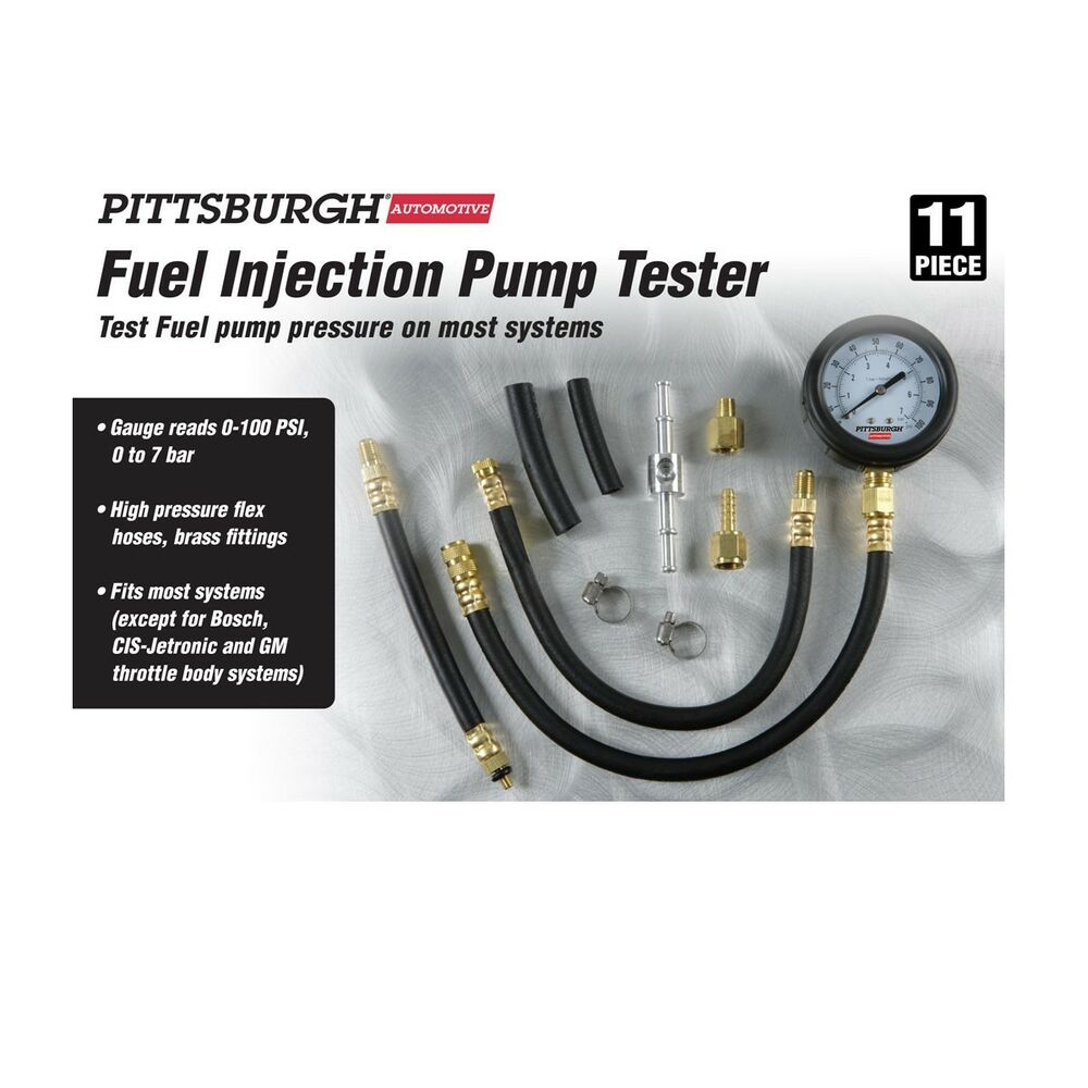 how to use a fuel pressure tester