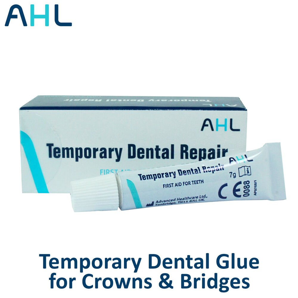 Over The Counter Temporary Dental Glue Cement for Crowns ...