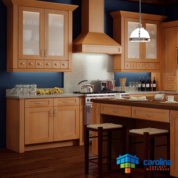 Kitchen Cabinets Shaker: Wood Kitchen Cabinets, Gold Shaker Cabinets 10X10 RTA