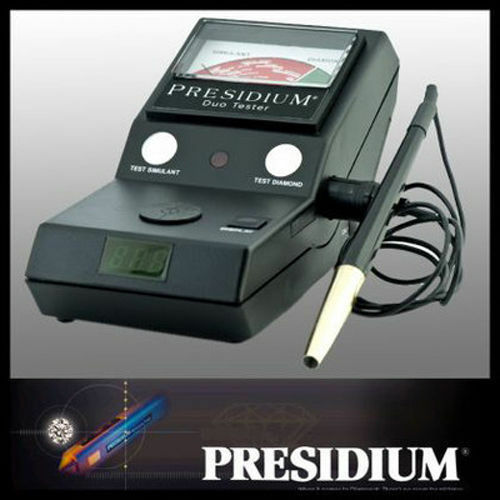 presidium duo tester multi test for diamond gem moissanite with out stones new ebay. Black Bedroom Furniture Sets. Home Design Ideas